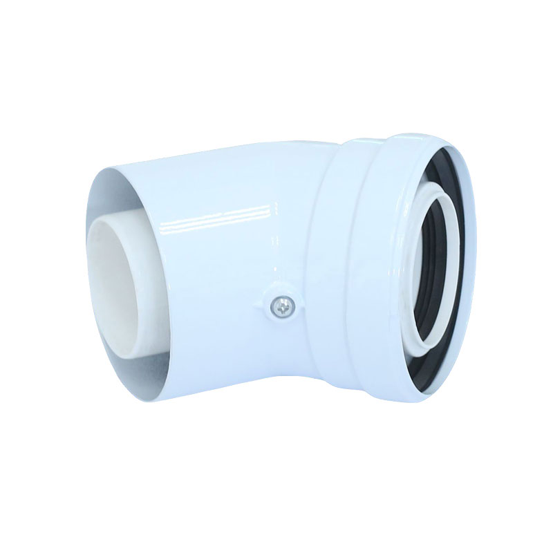 Φ60/100mm Condensing Elbow Chimney Pipe Connector Extension