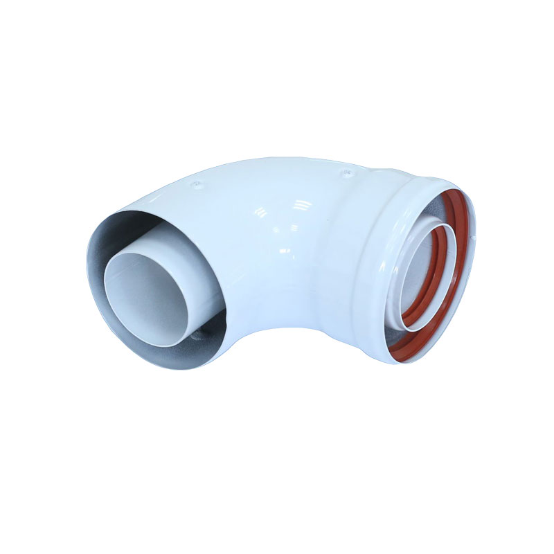 Φ60/100mm Condensing Elbow Bend Coaxial Extension Flue